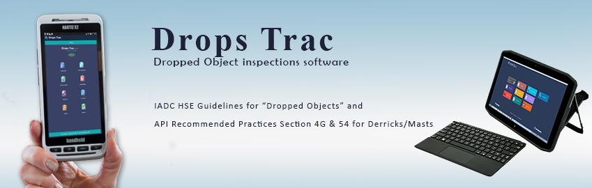 Drops Trac - Dropped Object Inspection Software